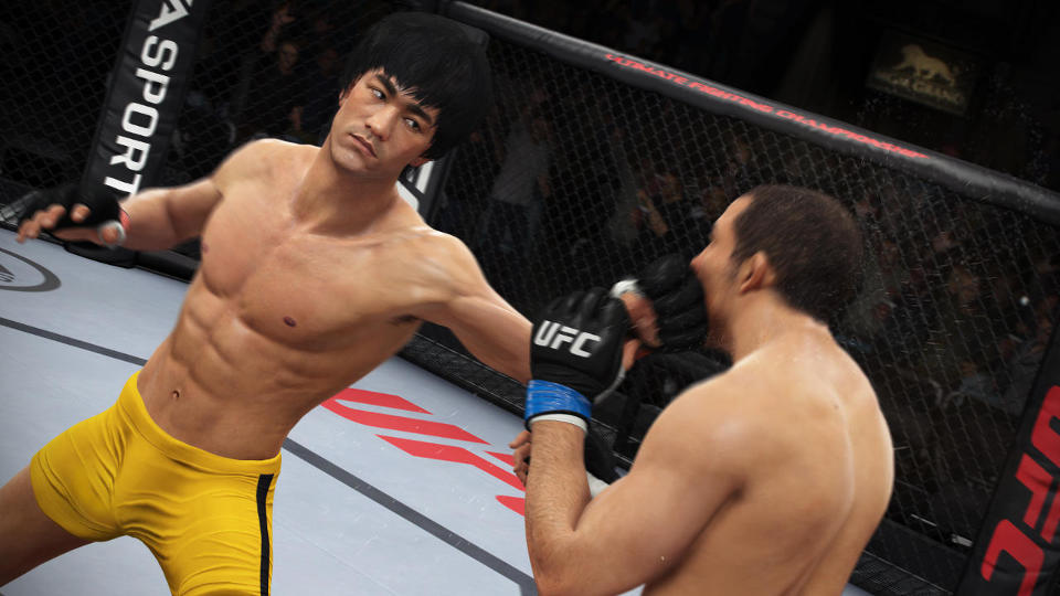 Bruce Lee in UFC